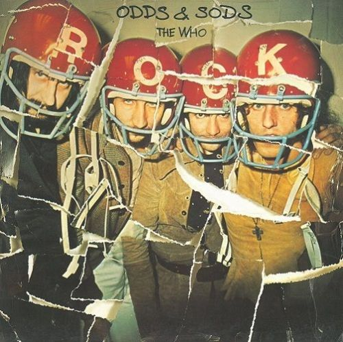 THE WHO Odds And Sods Vinyl Record LP Track